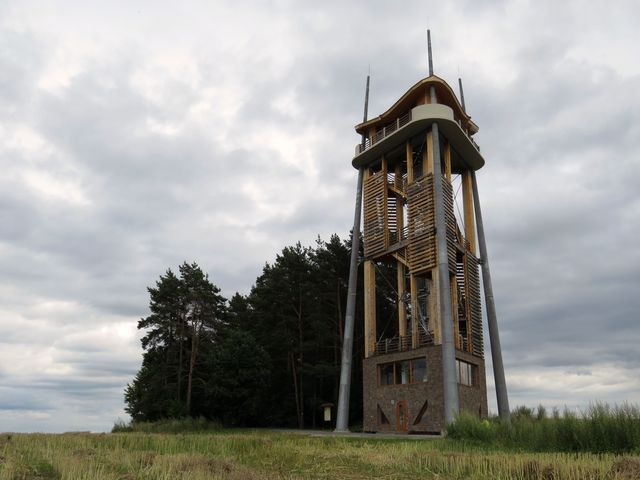 rozhledna Trigon na Rýdově kopci u Děbolína nedaleko Jindřichova Hradce
