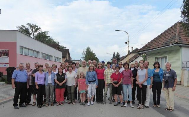 foto účastníků potulek Liptovem 2017 - za foto a podporu děkujeme Majce Jedličkové :-)