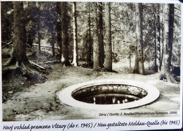 symbolický pramen Vltavy