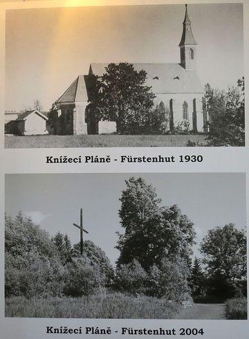 kostel sv. Jana Křtitele na Knížecích Pláních - historie a současnost