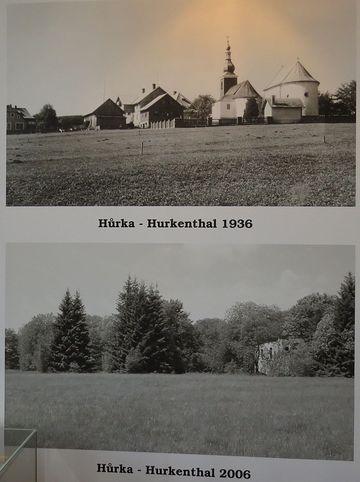 fotografie zmizelých šumavských obcí
