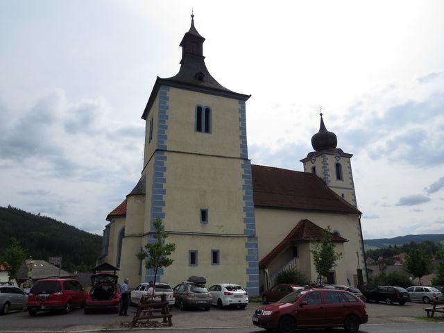 kostel Narození Panny Marie ve Velharticích, původně románský