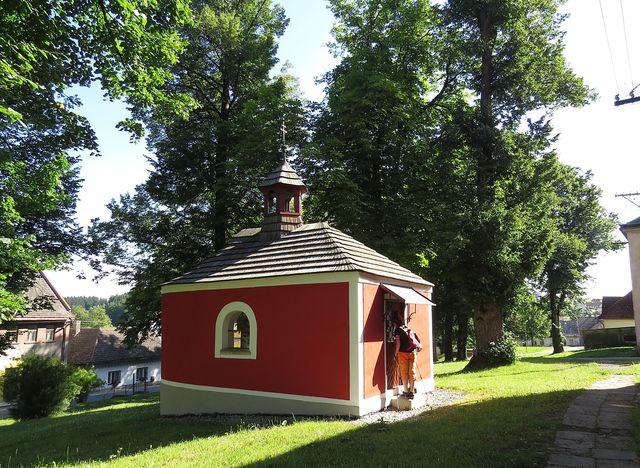 kaple sv. Barbory teď slouží jako zajímavá výstavní síň