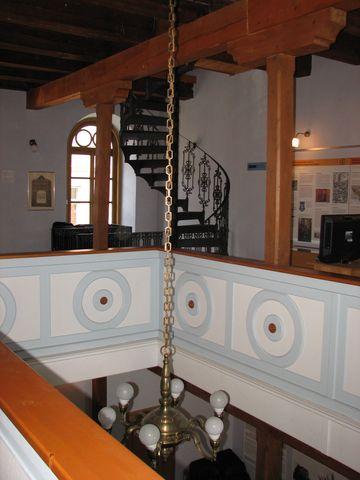 interiéry byly obnoveny podle původních předloh; foto F. Janeček