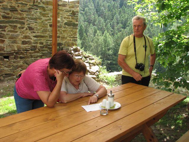 nahlédnutí do itineráře; foto F. Janeček