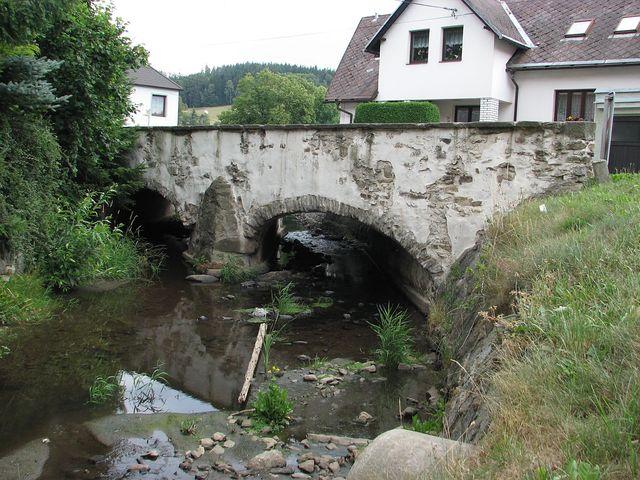 barokní most v Kolinci; foto F. Janeček